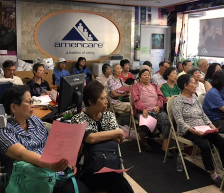 AMERICARE HOSTED EDUCATIONAL FORUM ON APPLYING FOR HOMECARE AND CDPAP