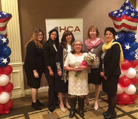 """AMERICARE AIDE HONORED WITH HOME CARE ASSOCIATION OF NEW YORK STATE """"CARING AWARD"""""""